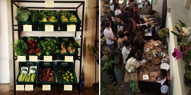 Loja em SP vende produtos orgânicos a preço de custo