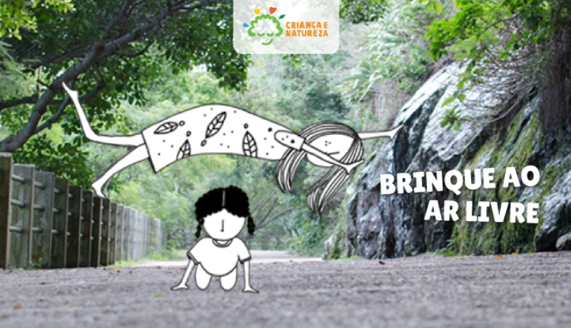 Projeto Criança e Natureza lança site sobre o tema