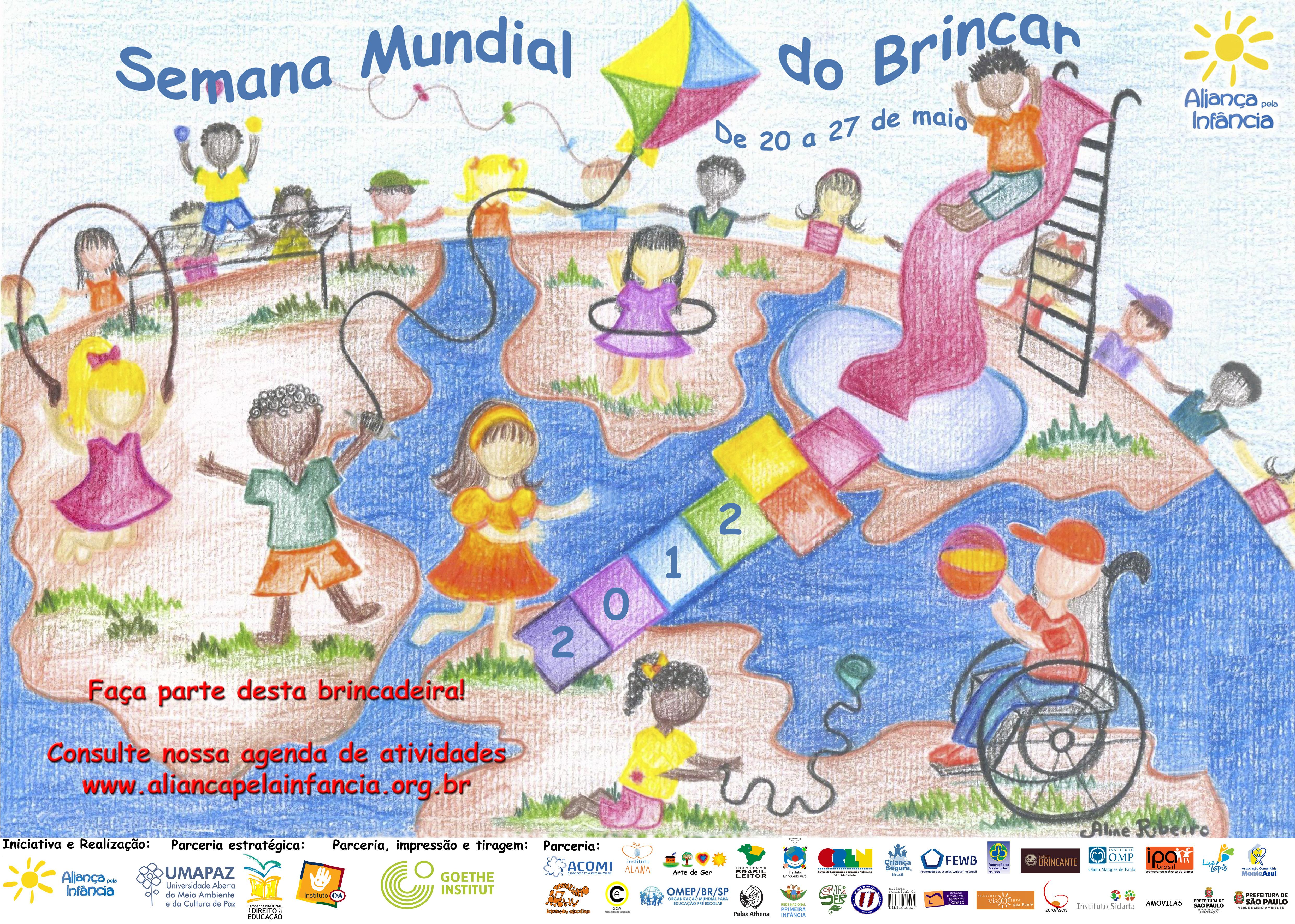 Semana Mundial do Brincar 2016 – uma ação encantada