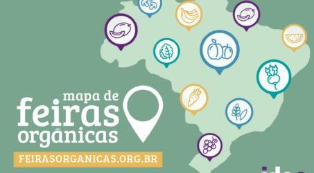 Mapa de Feiras Orgânicas do IDEC: nova versão traz receitas e mais conteúdo
