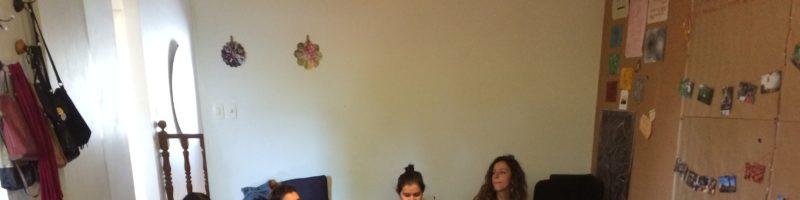 Oficina reúne mulheres para diálogo sobre o tempo na cidade