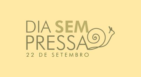 Campanha busca mobilizar recursos para a realização do DIA SEM PRESSA | SLOW DAY