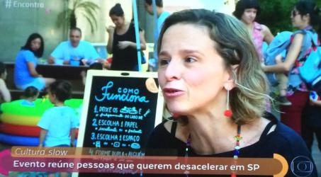 Programa Encontro com Fatima Bernardes fala sobre desacelerar e mostra DIA SEM PRESSA