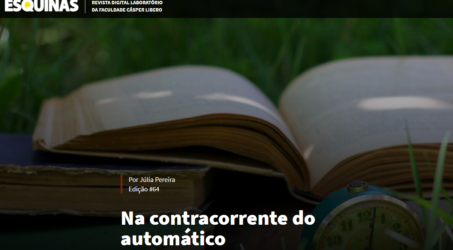Na contracorrente do automático